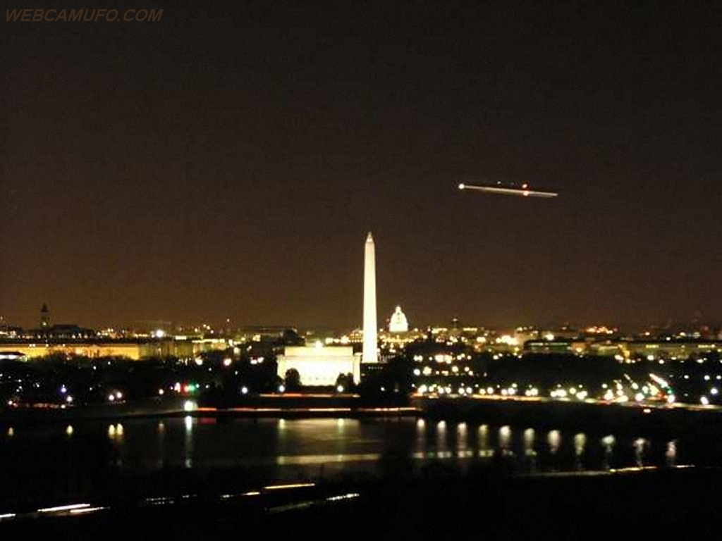 UFO Sighting Caught Above USA, UFO Sighting News